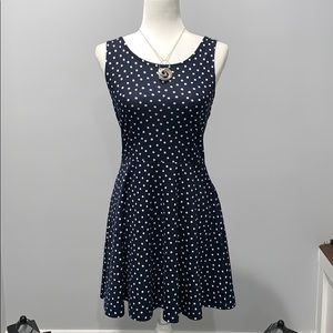 H&M Divided Navy Blue Sleeveless Dress. Size 10.